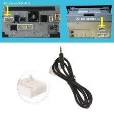 Toyota 20 Pin Stereo Wiring Car Radio Wiring
