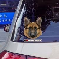 German Shepherd Waterproof <b>Jdm Car</b> Stickers on <b>Car Styling</b> ...