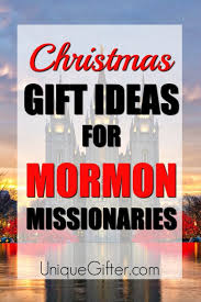20 gift ideas for mormon missionaries
