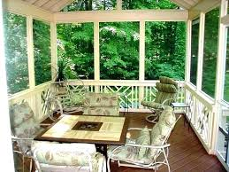 screened in porch furniture. Porch Furniture Ideas Screened In Small Front Design For