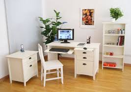 small home office desks. Great Ideas For White Home Office Furniture With Minimalist Computer Desk And Small Shelves Desks M