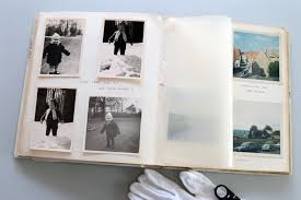 Family Photo Albums The Optically Unknown Looking Into Family Albums With A