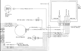i am doing a motor swap in my s blazer i am putting a the diagram shows the 4 wires that attach to the distributor your 1983 model will have the same module installed in the same spot