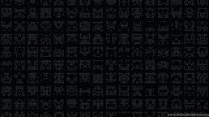 Wallpapers Dark Pattern Symbol Alien ...