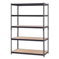 edsal 48 w x 72 h x 24 d 5 shelf metal