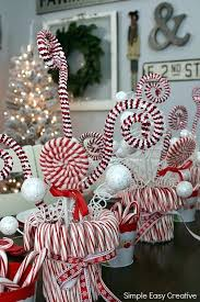 Candy Cane Table Decorations Christmas Table Centerpieces Feature Centerpiece Ideas To Complete 15