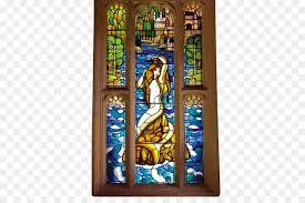 window stained glass harry potter mermaid window