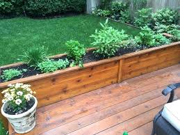 outdoor herb garden. Outdoor Herb Garden Containers Planters Kitchen Building A Planter Box Hanging G
