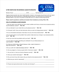 Health And Fitness Survey Questions Health And Fitness Survey Questions Under Fontanacountryinn Com