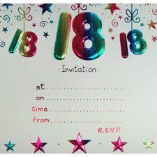 18th birthday invitations free templates
