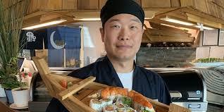 Sushi Cook Traditional Tempura Teriyaki Hits The Table At Thorntons Sushi