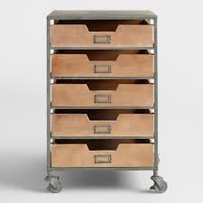 chic rolling wooden office cart drawer rolling storage cart regarding size 2000 x 2000