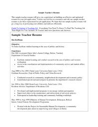 Sample Resume For Lecturer Job Gallery Of Sample Resume For Applying Teaching Job Best Letter 22