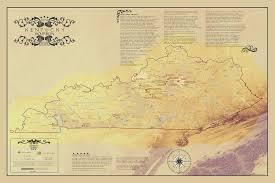 kentucky bourbon trail map  ×   mapporn