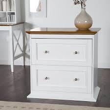 wood file cabinet white. Modren Cabinet Belham Living Hampton 2Drawer Lateral Wood File Cabinet  WhiteOak In White E