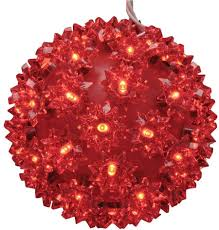 Super Sphere Lights Amazon Com Ge 5 5 In 50 Light Led Staybright Red Super