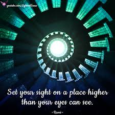 Seeing Blue Lights Spiritual Set Your Sight On A Place Higher Than Your Eyes Can See