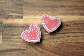 office valentine gifts. Office Valentine Gifts. Heart Magnets Set Of 2 Made From Salt Dough, Fridge  Gifts
