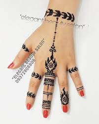 حنا مشکی Henna Tattoo At Elegantbeauty Salon Tag Your Friends