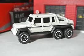Matchbox Loose - Mercedes-Benz G63 AMG 6x6 - Pickup Truck - White | eBay