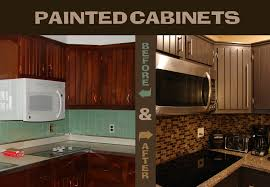 painted brown kitchen cabinets before and after. Plain Brown Painted Cabinets Before And After Throughout Brown Kitchen Cabinets And
