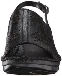 Ariat Women's Polly Ray Wedge Sandal, Black, 11 M US: Buy Online at Best  Price in UAE - Amazon.ae
