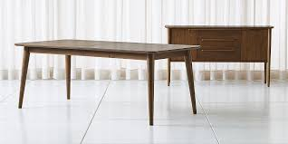 tate walnut midcentury dining collection