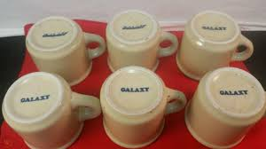 Coffee mug, ceramic mug with us mint police badge in gold. Vintage Set 6 Galaxy Diner Coffee Cups Mugs Heavy Unused Mint Nos Speckled Lot 1846296794