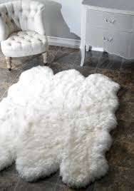 modest faux sheepskin rug bathroom painting in faux sheepskin rug design ideas