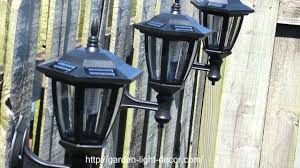 2017 New Outdoor Garden Path Wall Solar Powered Led Fence Light Solar Wall Lights For Garden