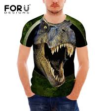 <b>FORUDESIGNS</b> Wholesale 3D Animal <b>T shirt</b> For Men Silm Fit <b>Tops</b> ...