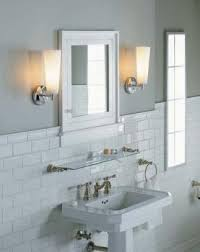 code bathroom wiring: vanity lights on the sides of the mirror provide good lighting