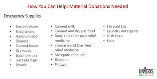 list of items needed for baby heres how you can help people affected by hurricane maria