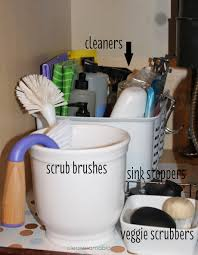 Under Kitchen Sink Organizing Kitchen Organization Under The Kitchen Sink Clean Mama