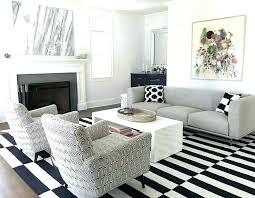 black and white chevron rug runner