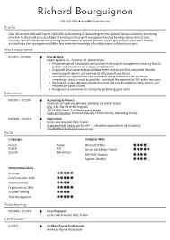 Resume Examples By Real People Payroll Clerk Resume Example