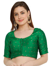Green Saree With Pink Blouse Design 14 Easy And Simple Blouse Design To Try Jeetu Kumar Medium