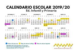 Calendario Noviembre 2020 Para Imprimir Calendario Escolar 2019 2020 La Rioja Y Logroño Para Imprimir