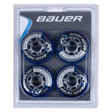 Bauer Xr3 Outdoor 84a Roller Hockey Wheel Blue 4 Pack