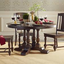 54 inch round dining table color