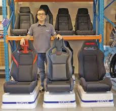 jeff tan s excellar is the sole authorized importer and distributor of the recaro brand in the