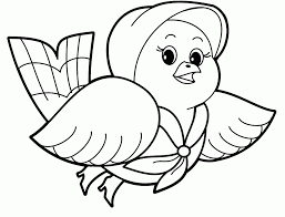 Simple Coloring Pages Of Animals Gagaw