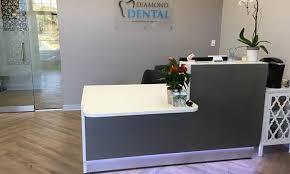office reception desk. Realizacja 1 : Reception Desk Linea - USA \\ Connecticut Office L