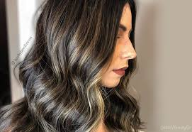 25 hottest black hair with highlights