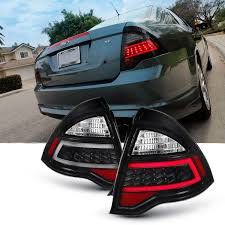 Ford Fusion Lights Amazon Com For 2010 12 Ford Fusion Full Led Daytime Running
