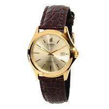 casio mtp1183q 9a wrist watch for men casio mens mtp1183q 9a gold tone casual leather dress watch quartz classic new
