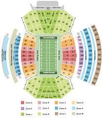 Nebraska Football Field Seating Chart Ncaa Football Tickets