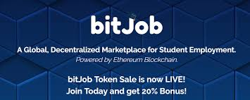 bitjob decentralized student jobs platform steemit bitjob is designed to create a lance work environment for students to enhance their resumes and make money out having to pay harsh fees for using