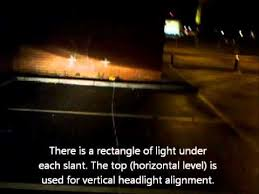 Pass The Mot Mechanical Fitness Inspection Diy Adjust Car Headlight Alignment And Aim