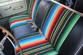 mexican blanket seat cover